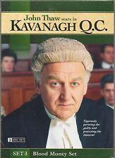 Kavanagh Q.C.: Set 3 - Blood Money Set [3 Discs] DVD John Thaw