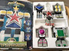 POWER RANGERS SUPER ZEO Megazord con scatola (non completo)