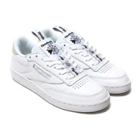 New Mens Reebok CLUB C 85 IT BS6212 WHITE / BLACK US 8.0 TAKSE