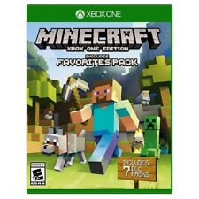 Minecraft: Xbox One Edition includes Favorites Pack Full Game [Digital Download]