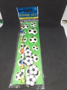 4 x Football Favor Sets Party Bags, Weddings or  Piñata Free P&P to UK