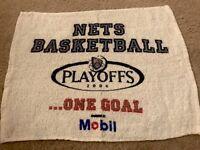 80c66af28 New Jersey Nets 2004 NBA Playoffs Fan Towel