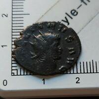 H04416 pièce de monnaie romaine antoninien à identifier