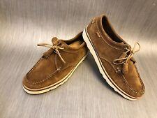 G.H. Bass Weejuns Ante Marrón Cuña Zapatos para hombre Talla 8 Reino Unido (euro 42)