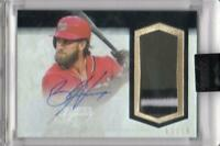 MLB Card 2018 Bryce Harper Topps Dynasty Patch Auto 02/10