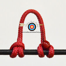 Red Archery Release Bow String Nock D Loop Bowstring BCY #24