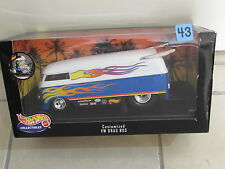 HOT WHEELS 1999 COLLECTIBLES - CUSTOMIZED VW DRAG BUS - SCALE 1:18