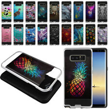 """For Samsung Galaxy Note 8 N950 6.3"""" Brushed Hybrid Hard TPU Case Phone Cover"""