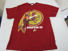 Washington Redskins RG3 Griffin Size Large NFL Team Apparel T-Shirt