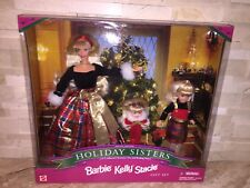 BARBIE KELLY STACIE HOLIDAY SISTERS SPECIAL EDITION GIFT SET