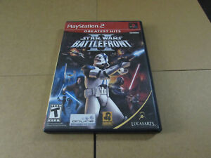 Star Wars: Battlefront (PlayStation 2, 2004) PS2 CASE Only Replacement