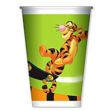 Tigger Childrens Childs Kids Birthday Party Plastic Cups 180ML Pack of 50