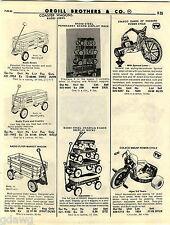 1982 ADVERT Radio Steel Coaster Wagon Store Display Rack All Sizes Coleco Smurf