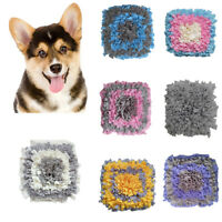 CO_ Puppy Pet Dog Snuffle Mat Nose Training Sniff Pad Toy Feeding Cushion Blanke