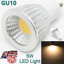 HIGH QUALITY Led Spotlight Bulb GU10 2 Pins 5W Warm White Light Color UK Lamp