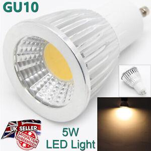 HIGH QUALITY Led Spotlight Bulb GU10 2 Pins 5W Warm White Light Color UK Lamp
