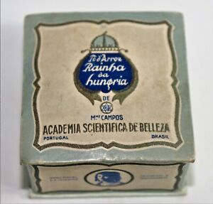 Old Face Powder Box from Hungary's Rainhha brand made in Portugal