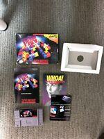 Tetris 2 Complete SNES Super Nintendo Original CIB Game Boxed