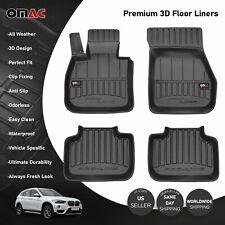 OMAC Premium 3D Floor Liners Mats Black for BMW X1 (F48) 2016-2020