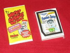 WACKY PACKAGES OS5 OLD SCHOOL 5 DIE CUT SET 1-33 IN NEW CONDITION