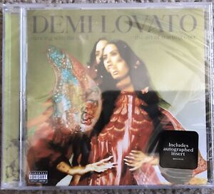 DEMI LOVATO SIGNED DANCING WITH THE DEVIL CD ART OF STARTING OVER