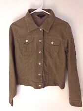 Land's End Stretch Corduroy Jacket Beige Size M in Great Condition