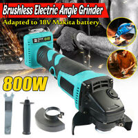 For Makita 18V Battery Electric Cordless Brushless Angle Grinder Cut off Tool