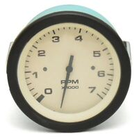 Teleflex Boat Tachometer Gauge 62568 | Driftwood 3 3/8 Inch Black