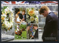 Tuvalu 2009 MNH Prince Harry Visits New York 4v M/S WTC Polo Royalty Stamps
