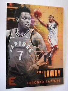 Panini Essentials 2017-18 card carte NBA Toronto Raptors #157 Kyle Lowry