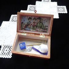 """French Wooden Storage Box - """"Épingles de qualité"""""""