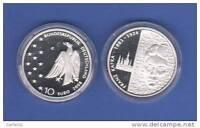 """10 EURO Gedenkmünze 2008  """" 125. Geburtstag Franz Kafka """" - PP -"""