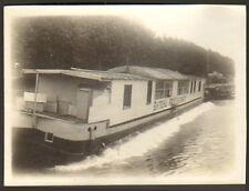 92 BOULOGNE-SUR-SEINE PHOTO BATEAU RESTAURANT TORTUE ? SUR LA SEINE 1912