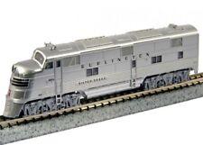 "Kato 176-5401 N EMD E5A CB&Q #9910A ""Silver Speed"" Locomotive"