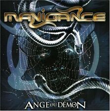 Manigance - Ange ou Demon (CD, 2002, Nothing to Say) Import RARE/OOP