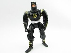 Mighty Morphin Power Rangers Power Playback BLACK NINJA RANGER Bandai Figure