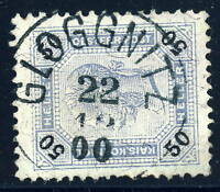 "AUTRICHE / AUSTRIA - 1900 - "" GLOGGNITZ "" (Kl.1311b) on Mi.79A p.13x12 1/2"