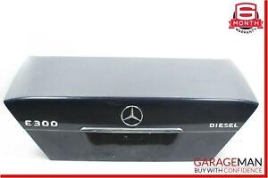 94-95 Mercedes W124 E300  Rear Trunk Lid Deck Shell Panel Midnight Blue OEM