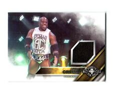 WWE Apollo Crews 2016 Topps Event Used NXT Takeover Mat Relic Card SN 101 of 199