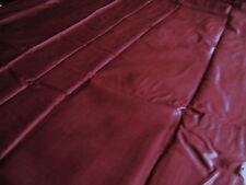 Bettwäsche Bezug Duvet Urbanara Marvila uni dunkel rot bordeaux 225 x 220 Knöpfe