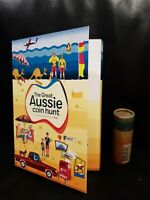 The Great Aussie Coin Hunt  A-Z Folder + 26 $1 COINS Roll fx5