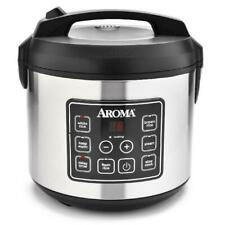 RIke Cooker 20-Cup Programmable Rice & Grain Cooker and Multi-Cooker, Steam Tray