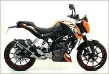 SILENCIEUX ARROW THUNDER ALU DARK KTM DUKE 125 200 2011/16 - 51010MI+51510AKN