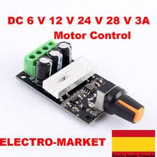 Pwm DC 6 V 12 V 24 V 28 V 3A Motor Control de velocidad interruptor módulo