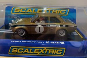 Scalextric C2920 -  Ford Escort MK1  - Brand New In Box