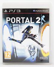 PORTAL 2 - PLAYSTATION 3 PS3 PLAY STATION - PAL ESPAÑA HALF LIFE VALVE MUY RARO