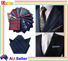 Men's Party Silk Suit Pocket Square Handkerchief Kerchief Towel Hanky
