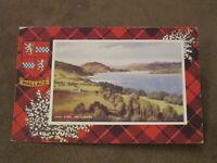 Valentine's Postcard -Loch Lyne Argyllshire -Heraldic interest - clan Wallace