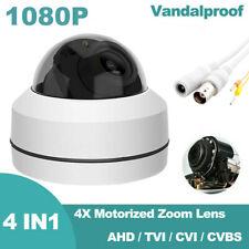 AHD 4X ZOOM 1080P  2.0MP SONY CMOS Pan Tilt  PTZ Camera CCTV Security Outdoor
