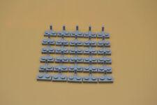 LEGO 30 x Platte 1x2 mit Haken neuhel grau newlight grey plate w. hook 4623